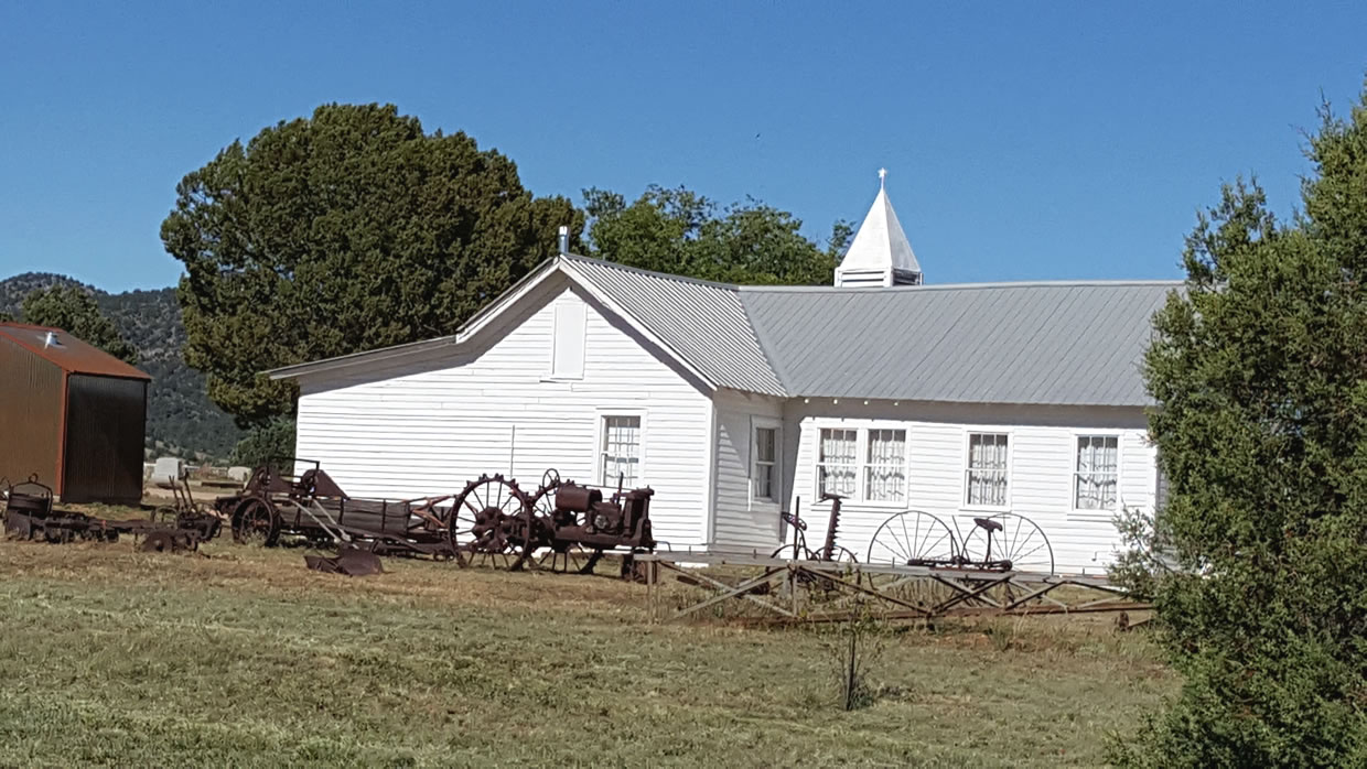 Pleasant Valley Historical Society Museum Building and Relics
